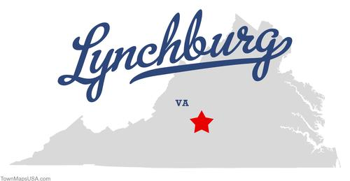 map_of_lynchburg_va