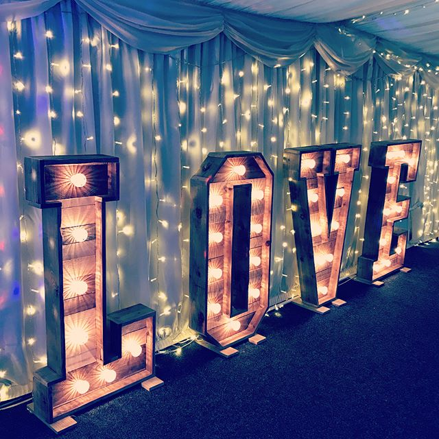 Loving the cozy fairy lights at today's wedding at Bordesley Park Farm! ✨