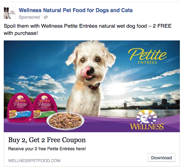 Wellness Pet Food - Petite Entrees Advertisement