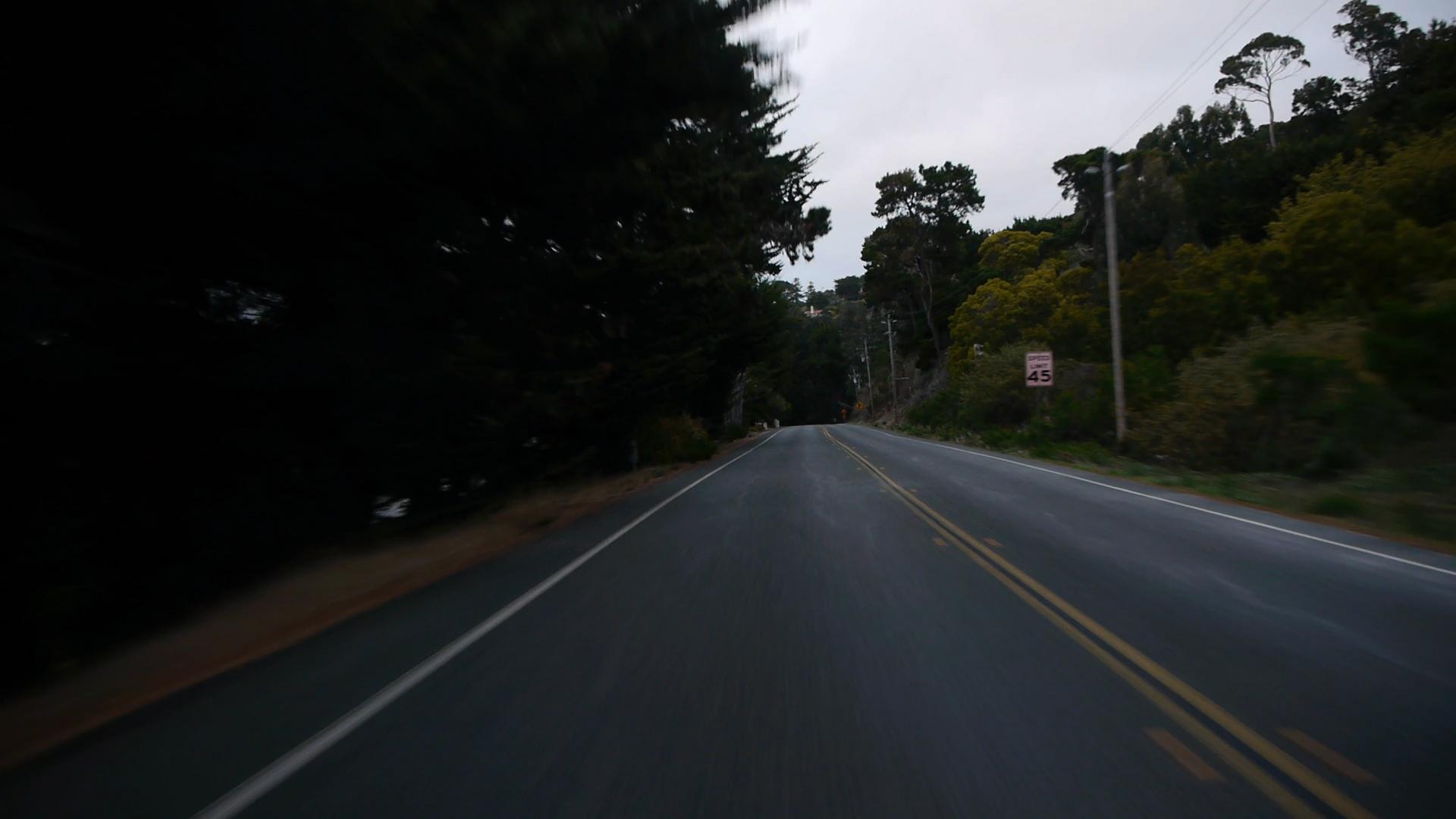 PCH, CA USA Driving Plates - ID:PL80105-0151