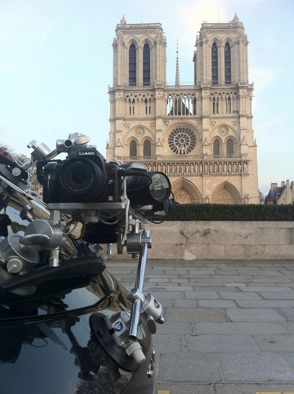 Driving Plates Multicamera Rig Paris Notre Dame