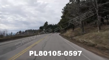 Vimeo clip HD & 4k Driving Plates Big Bear, CA PL80105-0597