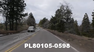 Vimeo clip HD & 4k Driving Plates Big Bear, CA PL80105-0598