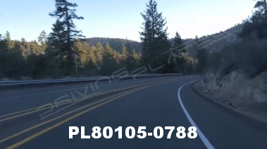 Vimeo clip HD & 4k Driving Plates Big Bear, CA PL80105-0788