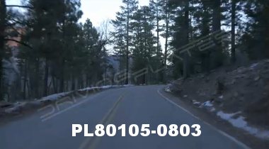 Vimeo clip HD & 4k Driving Plates Big Bear, CA PL80105-0803