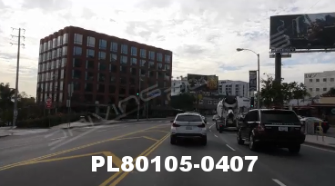 Vimeo clip HD & 4k Driving Plates Los Angeles, CA PL80105-0407