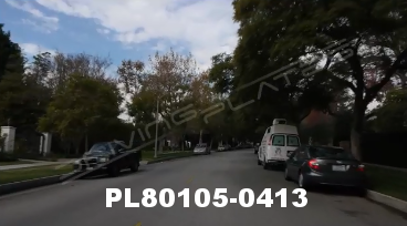 Vimeo clip HD & 4k Driving Plates Los Angeles, CA PL80105-0413