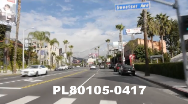 Vimeo clip HD & 4k Driving Plates Los Angeles, CA PL80105-0417