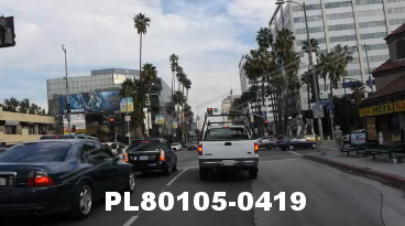 Vimeo clip HD & 4k Driving Plates Los Angeles, CA PL80105-0419