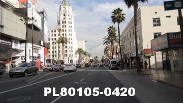 Vimeo clip HD & 4k Driving Plates Los Angeles, CA PL80105-0420