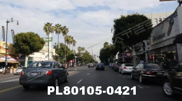 Vimeo clip HD & 4k Driving Plates Los Angeles, CA PL80105-0421