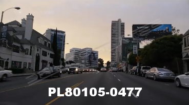 Vimeo clip HD & 4k Driving Plates Los Angeles, CA PL80105-0477