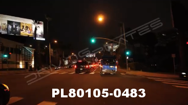Vimeo clip HD & 4k Driving Plates Los Angeles, CA PL80105-0483