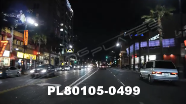 Vimeo clip HD & 4k Driving Plates Los Angeles, CA PL80105-0499