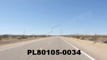Vimeo clip HD & 4k Driving Plates Mojave Desert, CA PL80105-0034