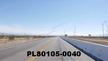 Vimeo clip HD & 4k Driving Plates Mojave Desert, CA PL80105-0040