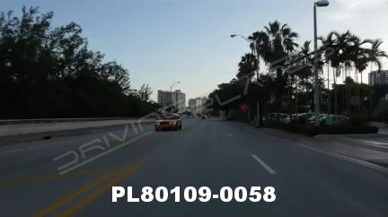 Vimeo clip HD & 4k Driving Plates Miami, FL PL80109-0058