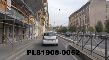 Vimeo clip HD & 4k Driving Plates Rome, Italy PL81908-0052