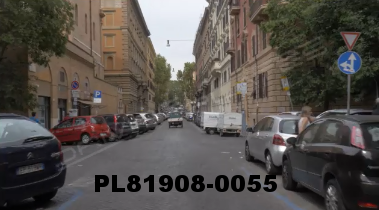 Vimeo clip HD & 4k Driving Plates Rome, Italy PL81908-0055