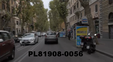 Vimeo clip HD & 4k Driving Plates Rome, Italy PL81908-0056