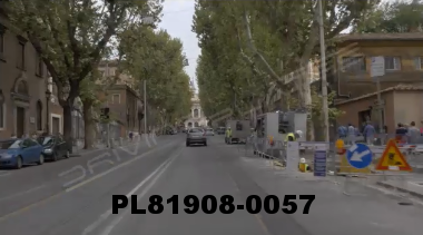 Vimeo clip HD & 4k Driving Plates Rome, Italy PL81908-0057