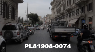 Vimeo clip HD & 4k Driving Plates Rome, Italy PL81908-0074