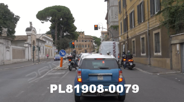 Vimeo clip HD & 4k Driving Plates Rome, Italy PL81908-0079