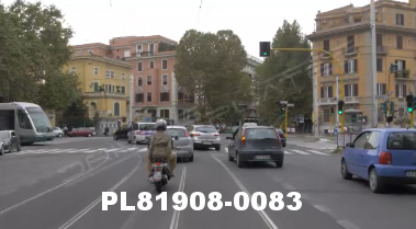 Vimeo clip HD & 4k Driving Plates Rome, Italy PL81908-0083