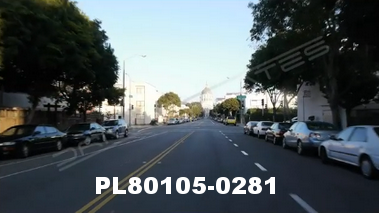 Vimeo clip HD & 4k Driving Plates San Francisco, CA PL80105-0281