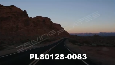 Vimeo clip HD & 4k Driving Plates Valley of Fire, NV PL80128-0083