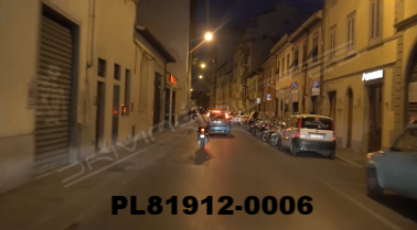 Vimeo clip HD & 4k Driving Plates Florence, Italy PL81912-0006