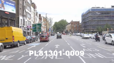 Vimeo clip HD & 4k Driving Plates London, England PL81301-0009