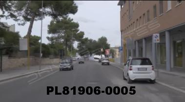 Vimeo clip HD & 4k Driving Plates Matera, Italy PL81906-0005