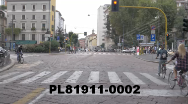Vimeo clip HD & 4k Driving Plates Milan, Italy PL81911-0002