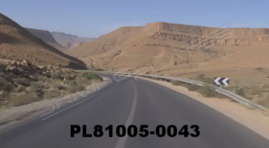 Vimeo clip HD & 4k Driving Plates Mountains, Morocco PL81005-0043