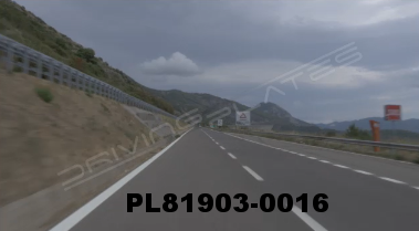 Vimeo clip HD & 4k Driving Plates Southern Italy Highway PL81903-0016
