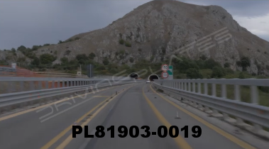 Vimeo clip HD & 4k Driving Plates Southern Italy Highway PL81903-0019