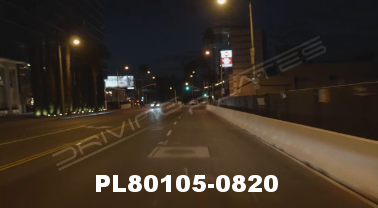 Vimeo clip HD & 4k Driving Plates Los Angeles, CA PL80105-0820