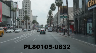 Vimeo clip HD & 4k Driving Plates Los Angeles, CA PL80105-0832