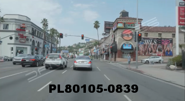 Vimeo clip HD & 4k Driving Plates Los Angeles, CA PL80105-0839