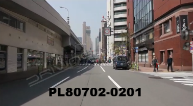 Vimeo clip HD & 4k Driving Plates Tokyo, Japan PL80702-0201