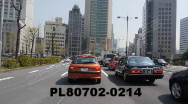 Vimeo clip HD & 4k Driving Plates Tokyo, Japan PL80702-0214