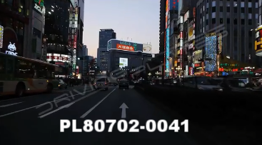 Vimeo clip HD & 4k Driving Plates Tokyo, Japan PL80702-0041