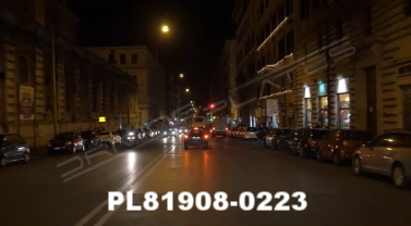 Vimeo clip HD & 4k Driving Plates Rome, Italy PL81908-0223