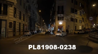 Vimeo clip HD & 4k Driving Plates Rome, Italy PL81908-0238