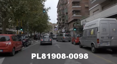Vimeo clip HD & 4k Driving Plates Rome, Italy PL81908-0098