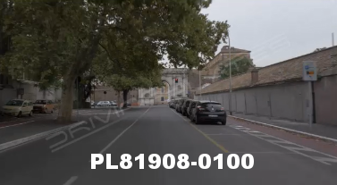 Vimeo clip HD & 4k Driving Plates Rome, Italy PL81908-0100
