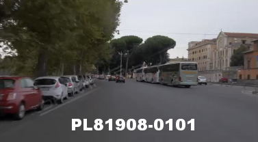 Vimeo clip HD & 4k Driving Plates Rome, Italy PL81908-0101