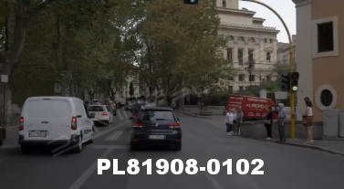 Vimeo clip HD & 4k Driving Plates Rome, Italy PL81908-0102