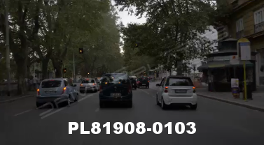 Vimeo clip HD & 4k Driving Plates Rome, Italy PL81908-0103